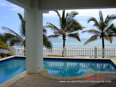 ecuador beachfront rental