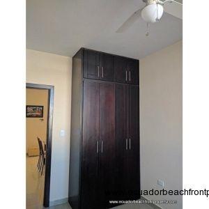 Closet in guest bedroom