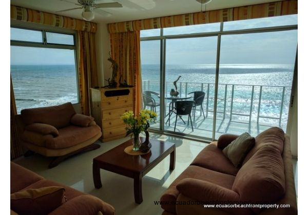beachfront condo with stunning ocean views