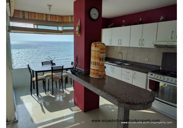 Beachfront condo for sale in Crucita, Ecuador