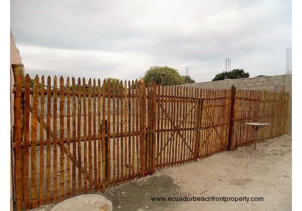 Empty lot.  