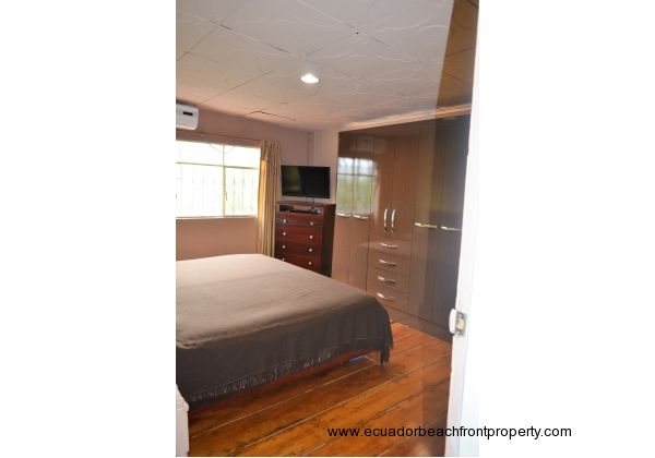 Master bedroom. 