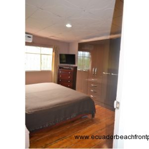Master bedroom.  Large wardrobe, dresser, 32