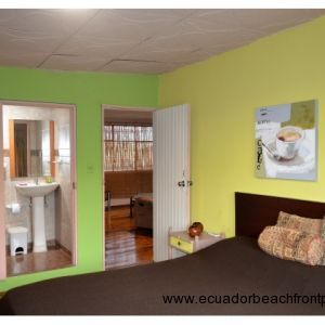 Master bedroom entry and bath entry