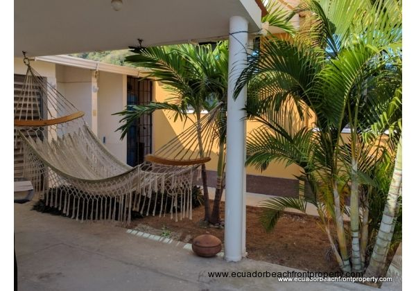 Hammock on the Porch