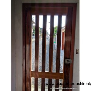 Wooden Entrance door
