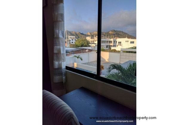 View towards the San Clemente hills from third bedroom