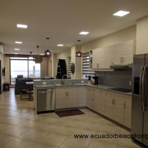 Spacious living quarters equipped with all new furnishings and appliances