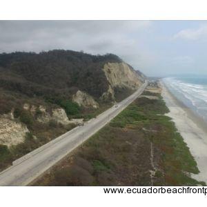Canoa, Ecuador Beach Aerial View