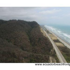 Canoa, Ecuador Aerial View
