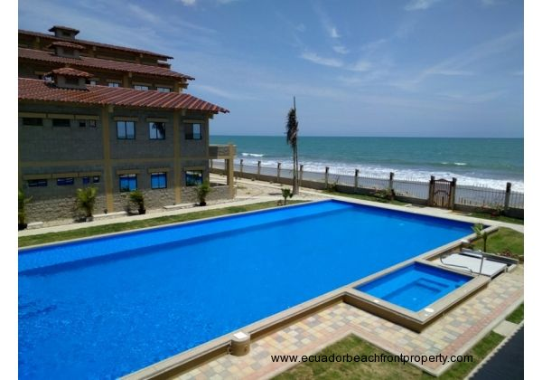 60 foot oceanfront swimming pool and heated jacuzzi
