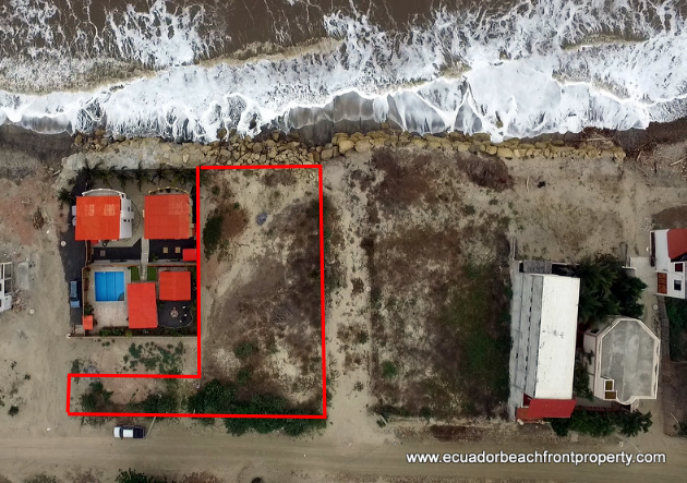 beachfront land for sale in Crucita Ecuador