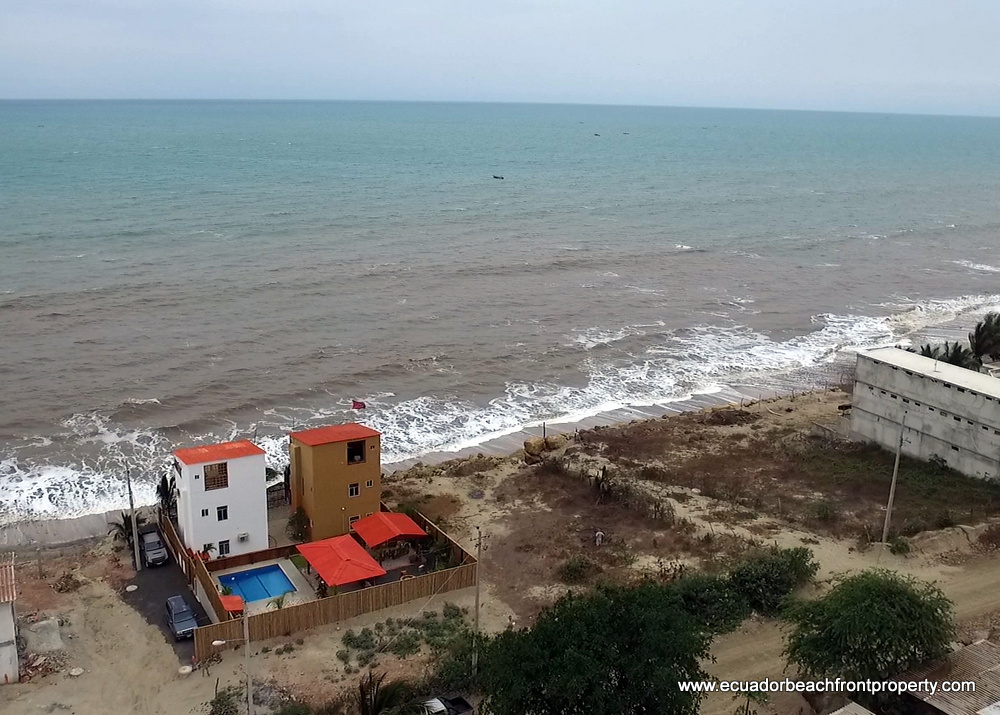 beachfront land for sale in Ecuador