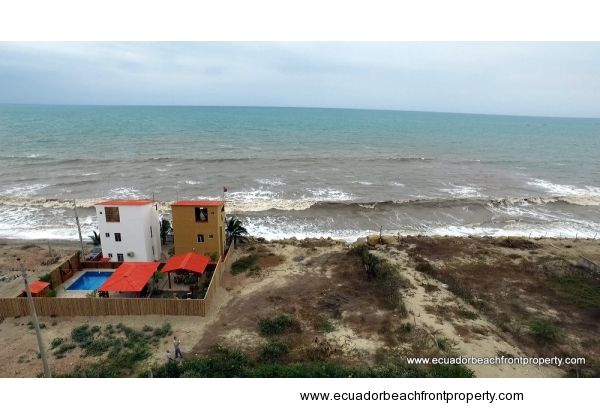Large Beachfront Lot in Crucita