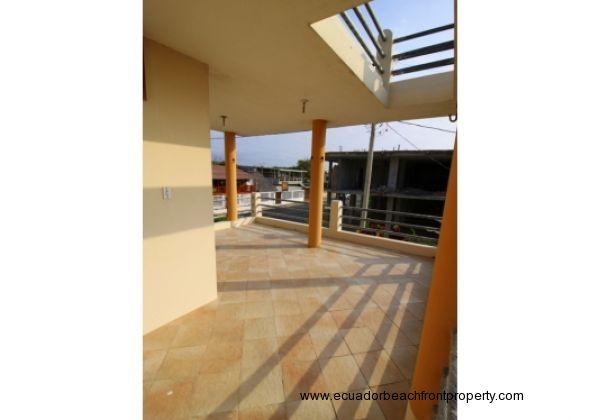 Hammocking terrace, second floor