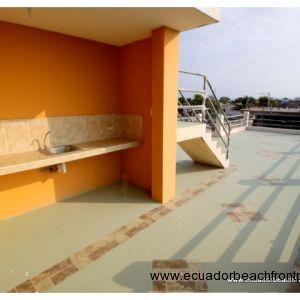 Outdoor terrace on the third floor