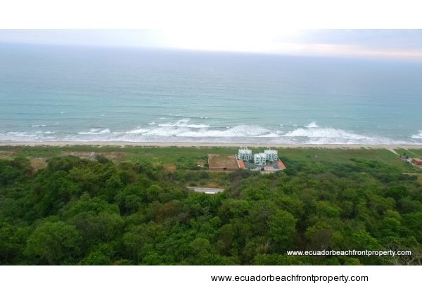 Stunning beachfront land for sale in Canoa