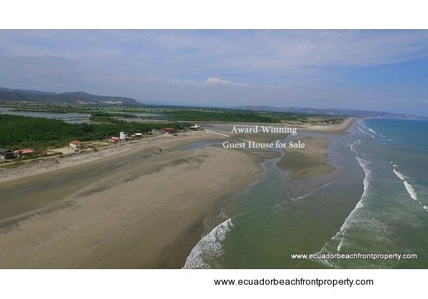 Award winning guest house for sale in Ecuador