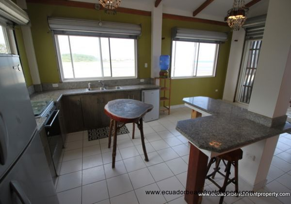 Kitchen comes with all appliances and beautiful mangrove and river views