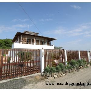 Last property located on the dead end road at the La Boca, the mouth of the river