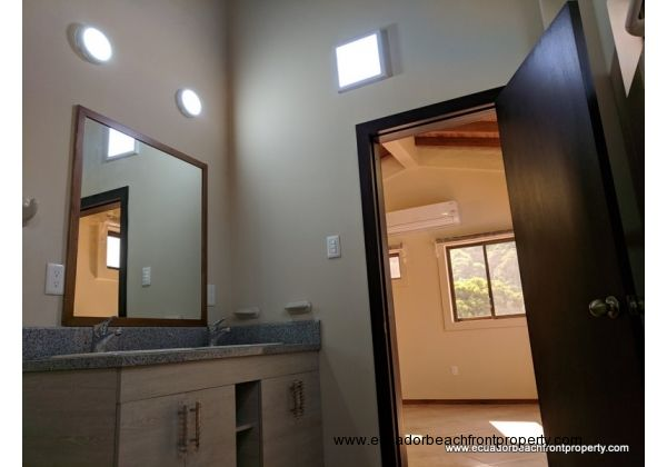 Master bedroom with AC, walk-in closet and spacious ensuite bathroom