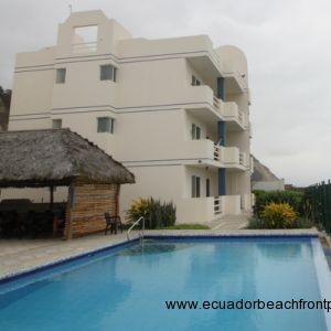 Playa Azul Canoa Beachfront Condo