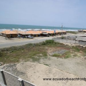 Beachfront Lot 98 ft Wide x 82 ft Deep