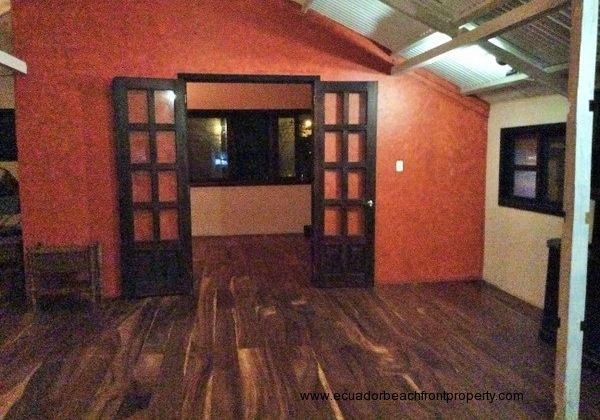 Samango wood floors throughout