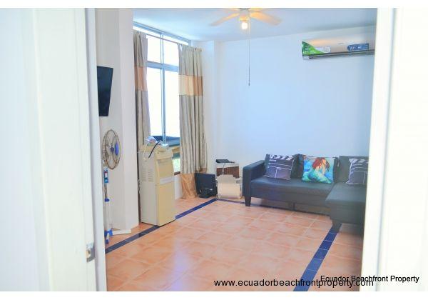 bedroom #3 has oceanview, ceiling fan, split unit A/C, built in closets and private bath