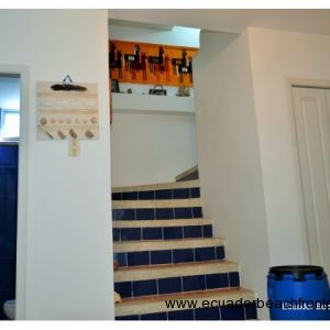 jack & Jill bath, staircase and pantry.