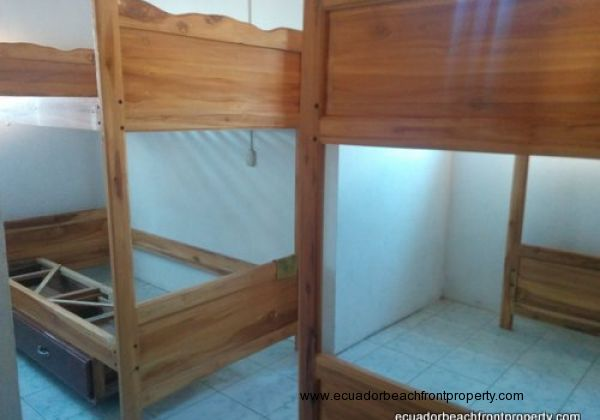 3rd bedroom with 2 bunk beds (mattresses included but not shown here)