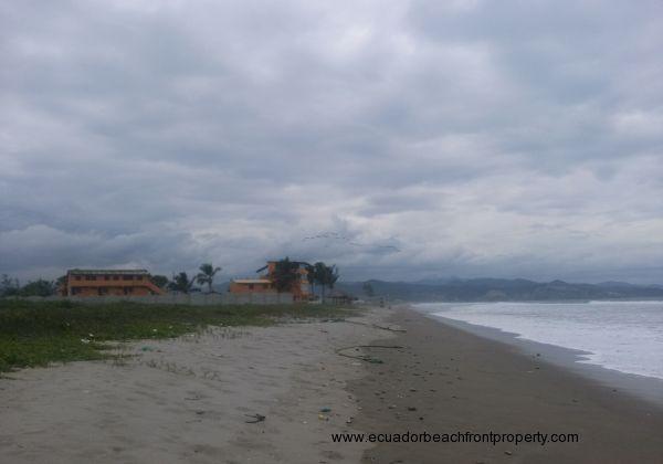 Beach south from Las Palmas