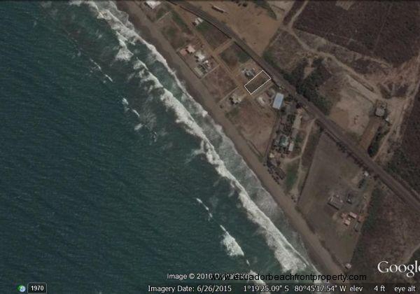 Las Palmas gated community, location of oceanview lot