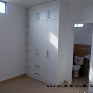 Built in closets and ensuite bath