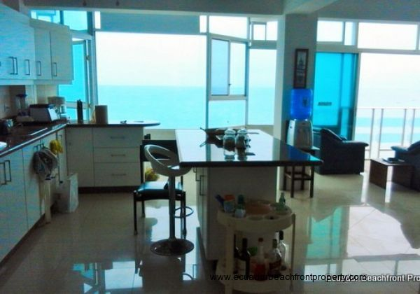 Oceanview from the kitchen