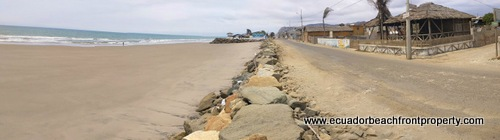 large beachfront lot for sale