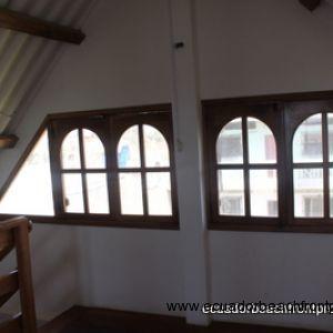 Custom loft windows
