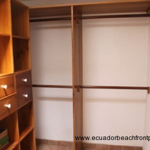 Closet and storage room