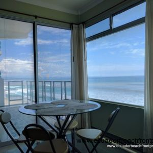 Furnished Beachfront Condo with Custom Finishings