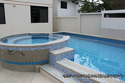 Poolside condo near the beach in Ecuador