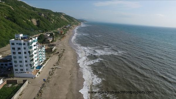 oceanfront condo for sale in Ecuador