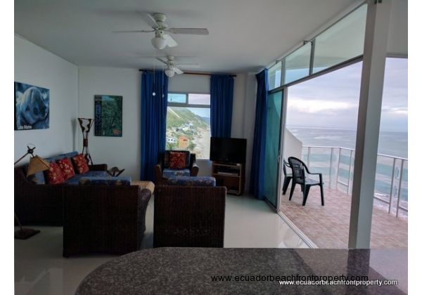 condo on the beach in Ecuador