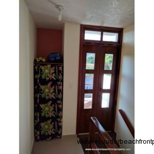 Extra Storage and Door to Enclosed Terrace Upstairs
