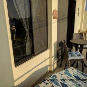 Oceanview balcony