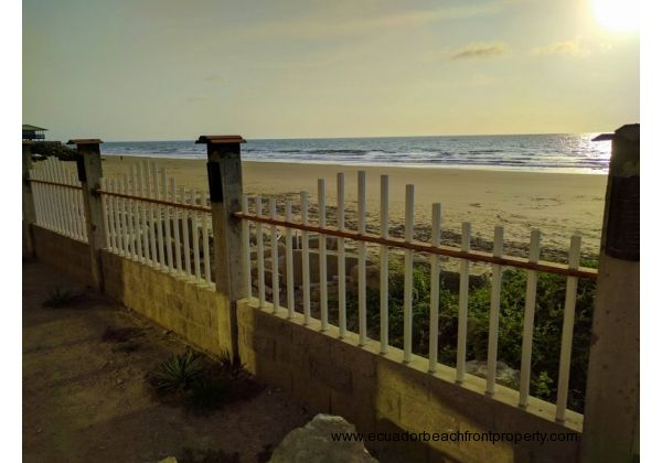 Located just steps to the beach