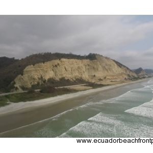 Canoa, Ecuador Real Estate Aerial View