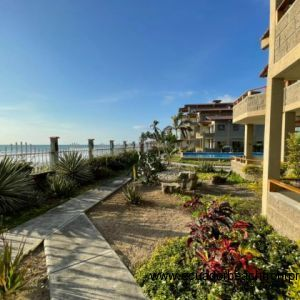 Exceptional mature gardens which make amazing views as well as the ocean on your doorstep.