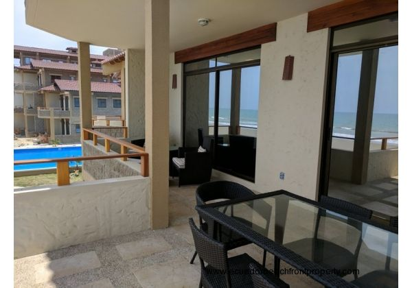 Luxurious BEACHFRONT Condo with Elevator and Pool