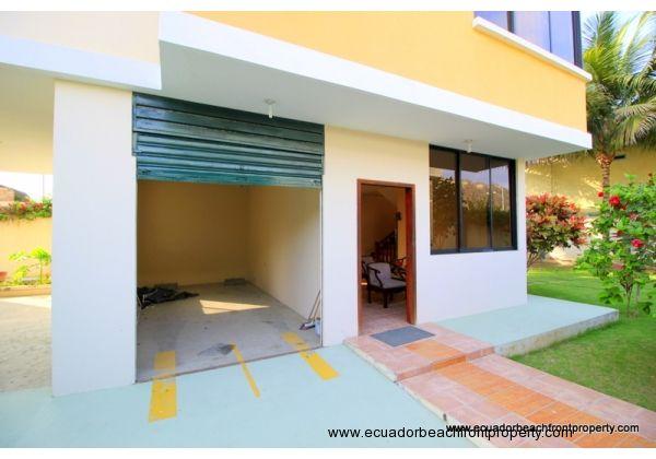 Enclosed garage