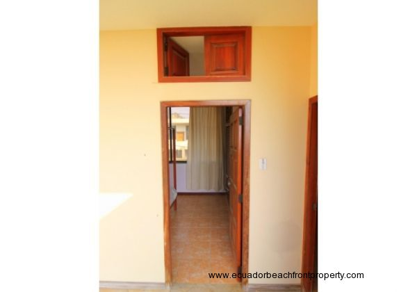 access to bedroom with upper ventilation doors to take advantage of the ocean breeze.